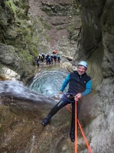 Canyon du Versoud dans le vercors