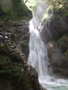 Canyon du Versoud, à la Rivière