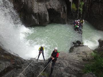 Canyoning en Isère, Vercors et Chartreuse, autour de Grenoble et Lyon