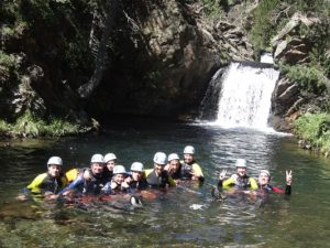 Canyoning proche de GRENOBLE