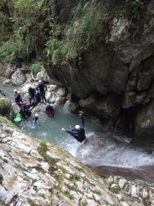 Canyoning dans le Vercors Canyon du Versoud