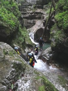 Canyons proche de Lyon