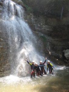 Canyoning Valence Canyon des Ecouges