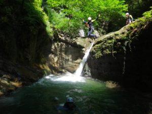 Canyons proche de Valence