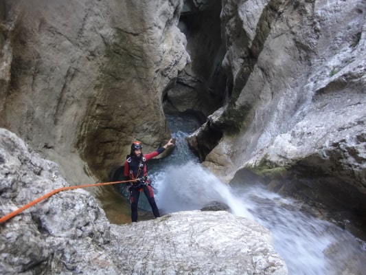 Canyoning proche de Valence
