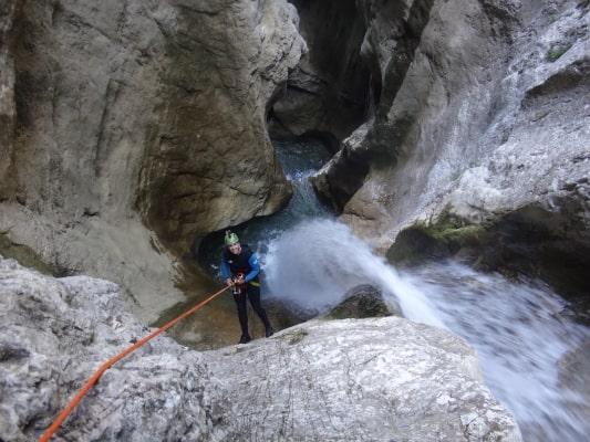 Canyon des Ecouges partie haute