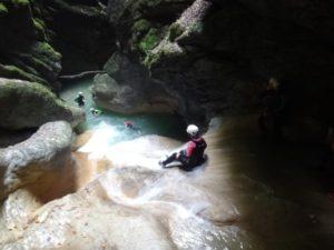 Canyon de l'Infernet (Chartreuse: Quaix en Chartreuse). A partir de 45Eur/pers. En savoir +