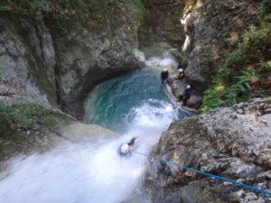 Canyon du Versoud (Vercors: Le Lignet). A partir de 40Eur/pers. En savoir +