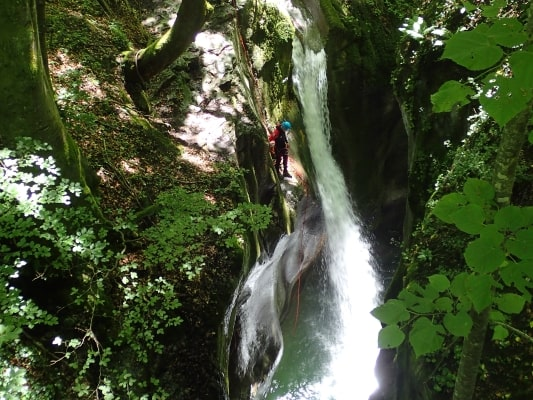 Canyon du Furon haut