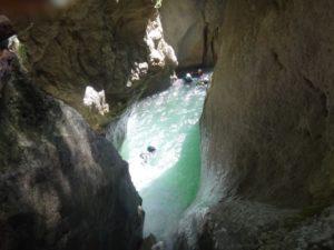 Canyon des Moules Marinières (Vercors: St Andéol). A partir de 45Eur/pers. En savoir +