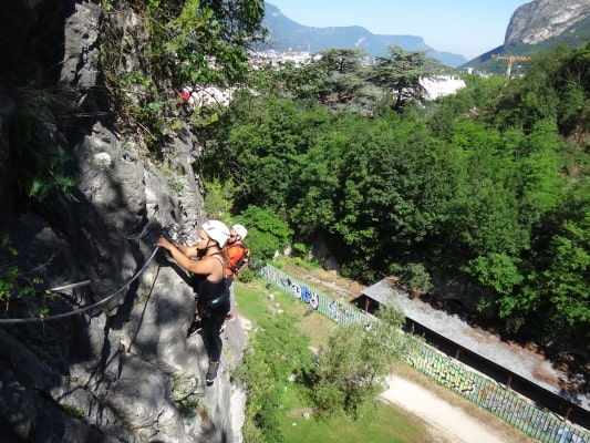 Via ferrata Grenoble Bastille